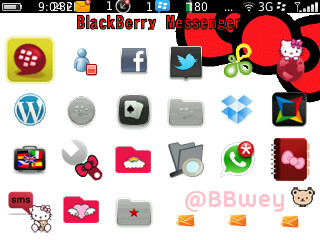 Hello Kitty Big Red Bow 8520, 8900, 9300, 95xx, 96xx, 9700, 9780, 9800